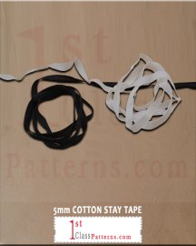 5mm COTTON STAY TAPE