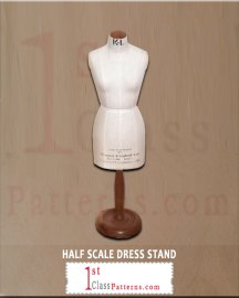professional half scale dress stand