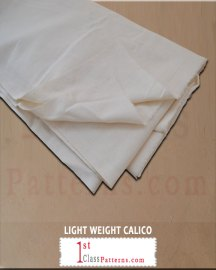 LIGHT WEIGHT CALICO