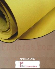 manilla card