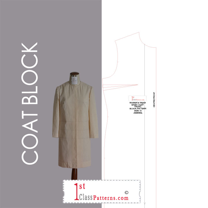 coat digital block pattern