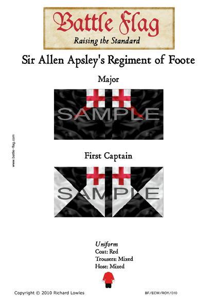 ECWROY010 (B) Sir Allen Apsley's Regiment of Foote