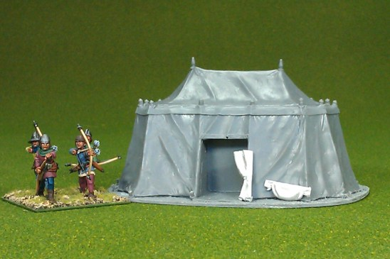 28mm medieval Large tent 01