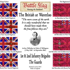 BaW3: The 1st & 2nd Brigades: The Guards.