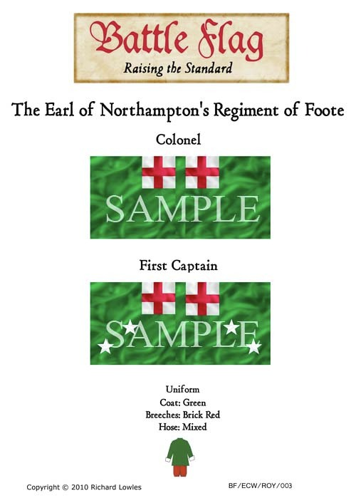 ECWROY003 The Earl of Northampton's Regiment of Foote