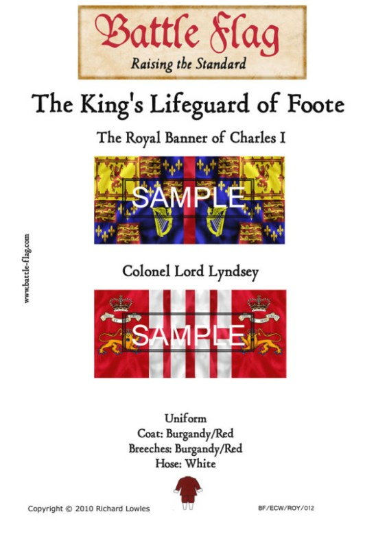 ECWROY012 (A) The King's Lifeguard of Foote