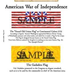 AWI/CA/004 Grand Old Union Flag, The Gadsden Flag