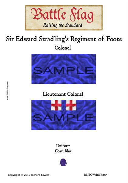 ECWROY005 (A) Sir Edward Stradling's Regiment of Foote