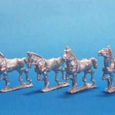 28mm Persian horses.
