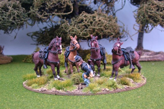 28mm american civil war horse holder