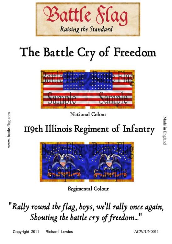 119th Illinois Regiment of Infantry