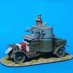 28mm Austin Armoured Car V1