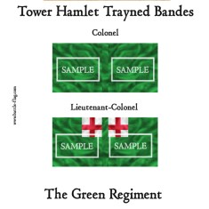 ECW/PAR/008 (C) Tower Hamlet Trayned Bande Green Regiment Colon
