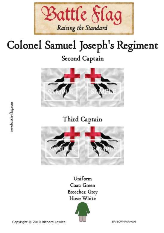 ECW/PAR/009 (A) Colonel Samuel Joseph's Regiment of Foote