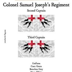 ECW/PAR/009 (A) Colonel Samuel Joseph's Regiment of Foote