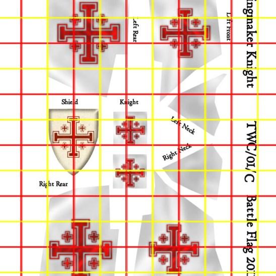 Outlined Cross