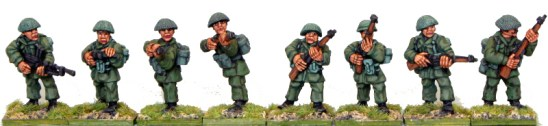 28mm Korean war British infantry