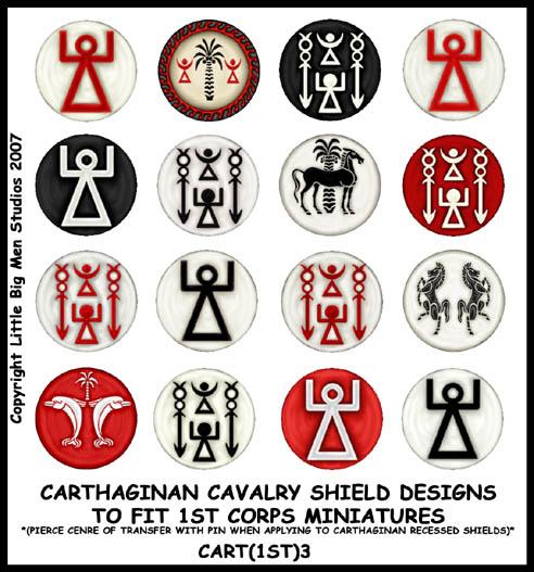 Ass Round cavalry designs.