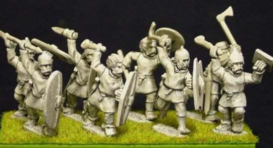 Clothed warriors (b)