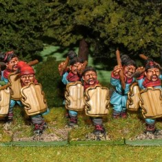 CH22 Skirmishers with javelins.