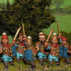 Warring States Chinese Armoured swordsmen