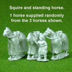 Squire horse holder.
