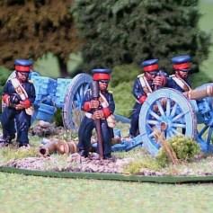 Artillery crew (firing)