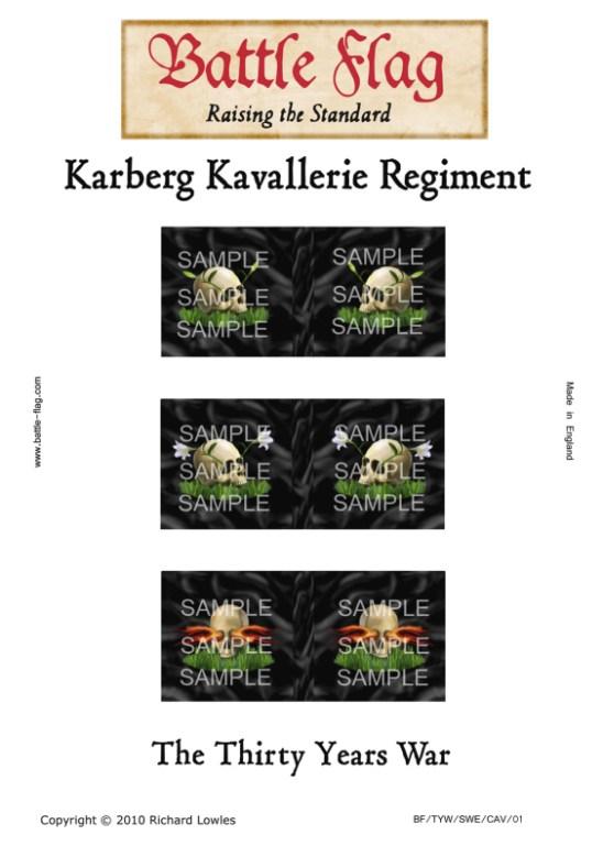 (d) Karberg cavalry regt