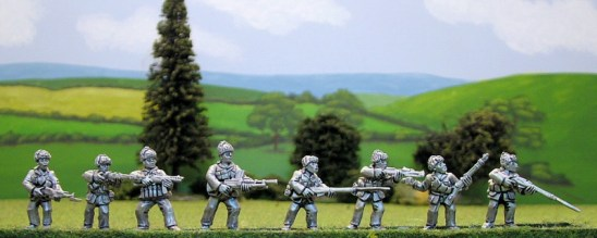 28mm Korean War Chinese infantry