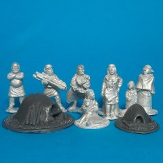 28mm Dark Age or Early Medieval civilians
