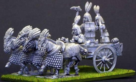 EC15 Zhou 4 horse chariot.