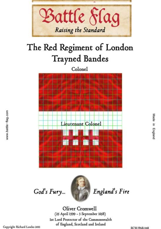 ECW/PAR/018a (A) The Red Regiment of London