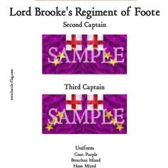 ECW/PAR/016 (B) Lord Brooke's Regiment of Foote