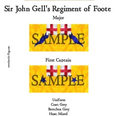 ECW/PAR/018 (B) Sir John Gell's Regiment of Foote