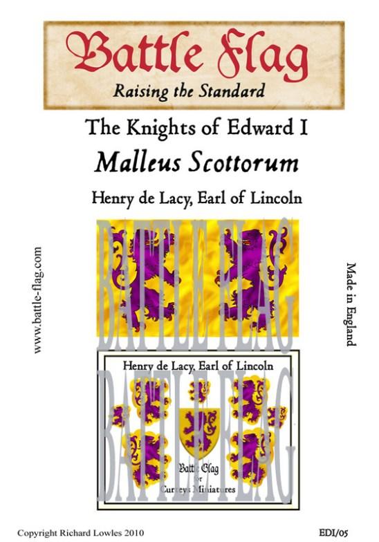 EDI-05 Henry de Lacy, Earl of Lincoln