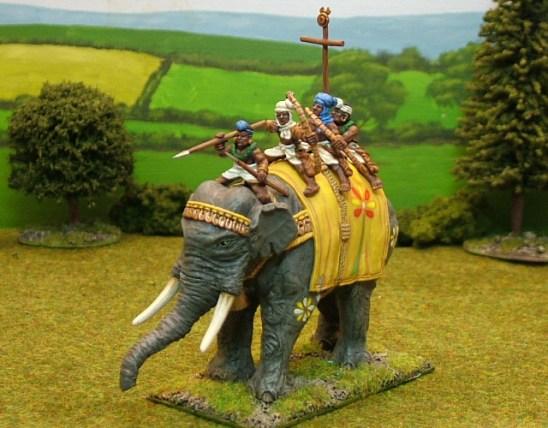 EL, B Indian Elephant