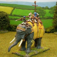 28mm ancinet indian elephant EL, B Indian Elephant