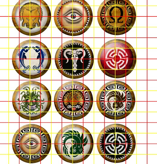 Elaborate Greek Shield Designs 01