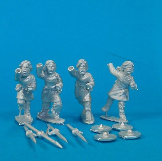 Javelinmen ,bareheaded (4)