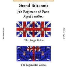 GB1: 7th Regiment of Foot