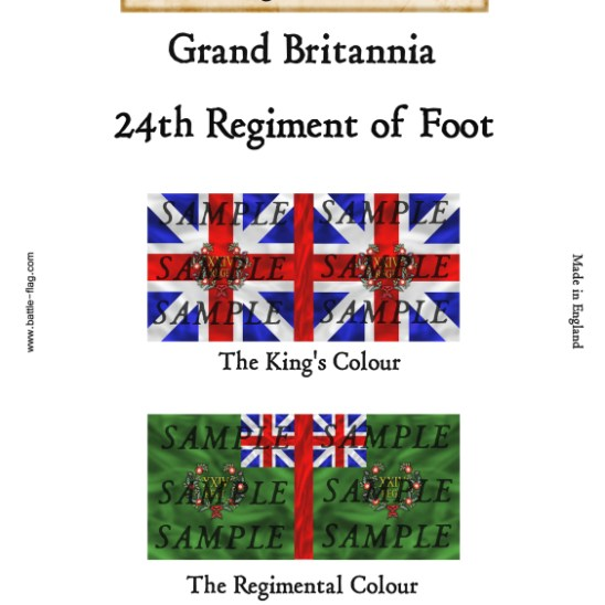 GB8: 24th Regiment of Foot