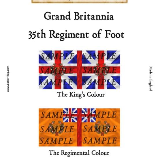 GB9: 35th Regiment of Foot