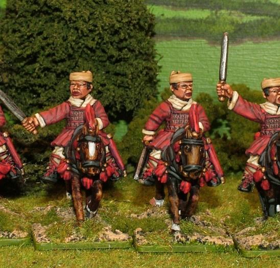 28mm Han Cavalry with swords.