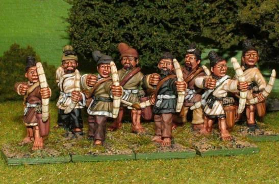 HN19 Levy archers.