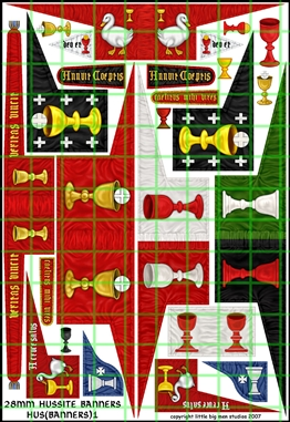 HUSSITE BANNERS 1