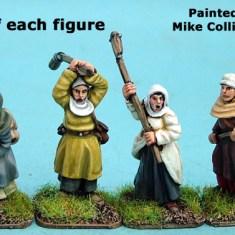 Hussite Women with Polearms II