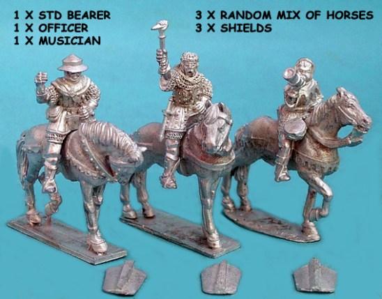 Hussite Heavy Cavalry Command