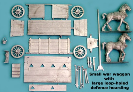 Small War Wagon with Large Loop Holed Defence Hoarding