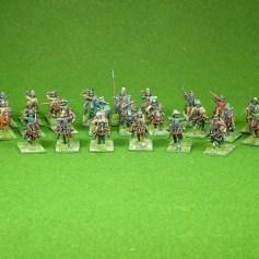 Lion Rampant 24pt Mongolian Starter Army