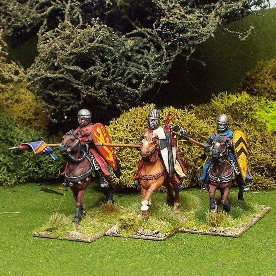 28mm Medieval Mounted Knights/Sergeants.